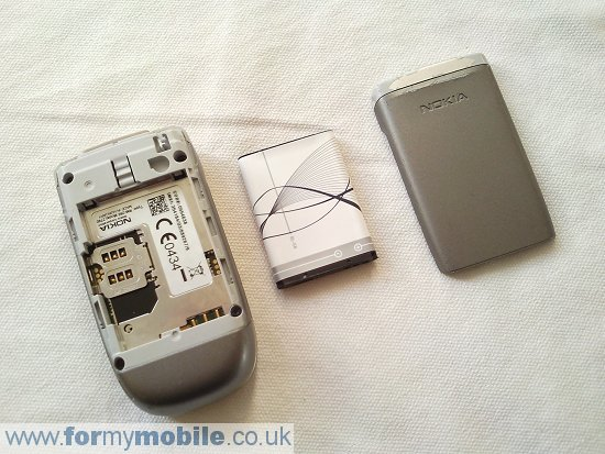 Nokia 2760 disassembly stage 1