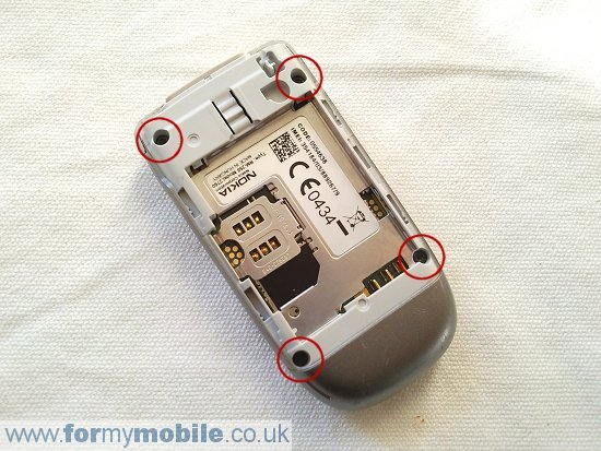 Nokia 2760 disassembly stage 11