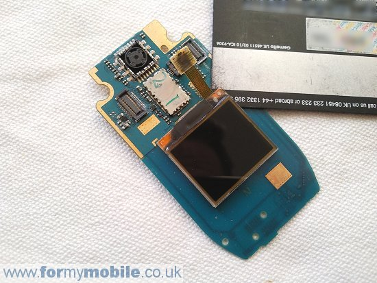 Nokia 2760 disassembly stage 9