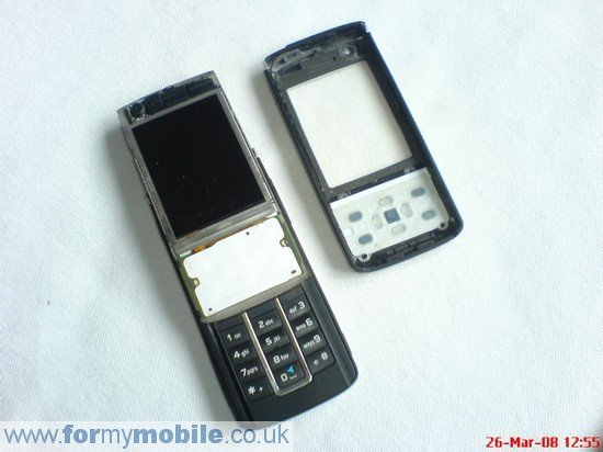 Nokia 6280 disassembly stage 3