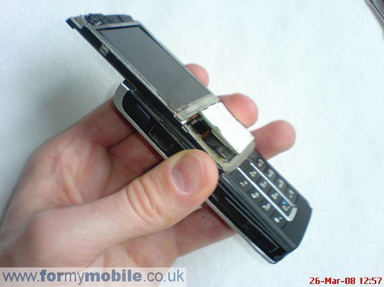 Nokia 6280 disassembly stage 4
