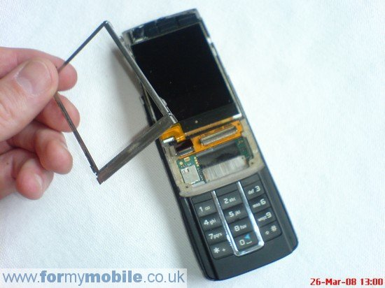 Nokia 6280 disassembly stage 7