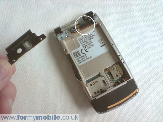 Nokia 6600 Fold disassembly stage 2