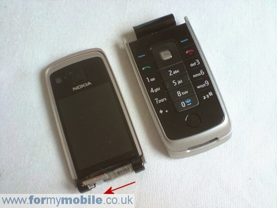 Nokia 6600 Fold disassembly stage 6