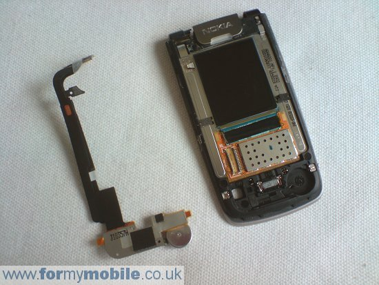 Nokia 6600 Fold disassembly stage 9