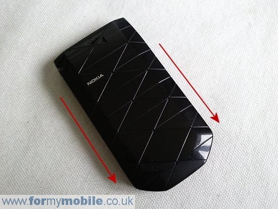 Nokia 7070 Prism disassembly stage 1