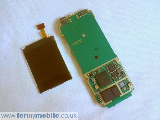 Nokia 7310 Supernova disassembly stage 7