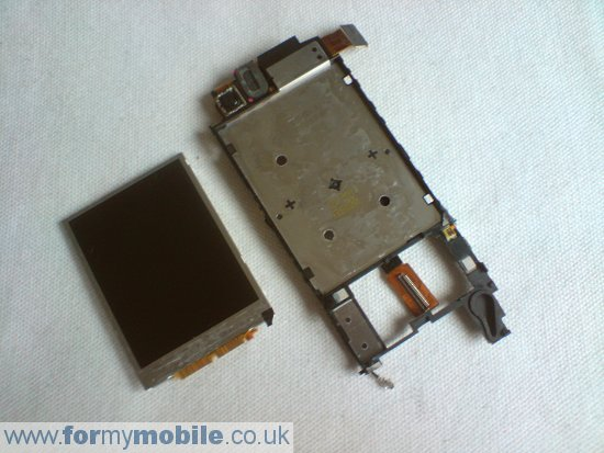 Sony Ericsson C510 disassembly stage 15