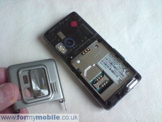 Sony Ericsson C702 disassembly stage 3