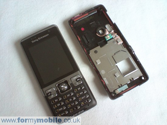 Sony Ericsson C702 disassembly stage 5