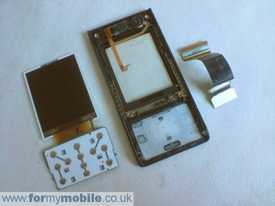 Samsung MiCoach F110 disassembly stage 11