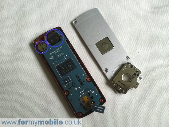 Samsung F210 disassembly stage 10