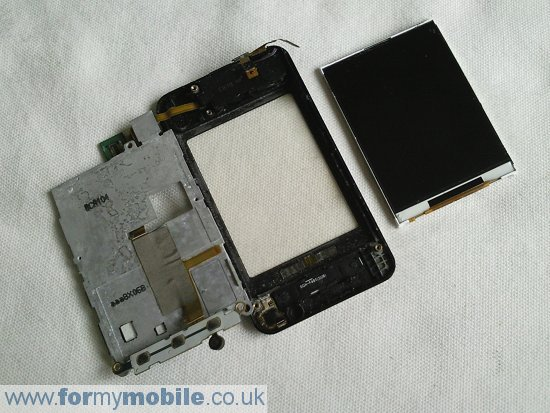 Samsung Tocco F480 disassembly stage 11