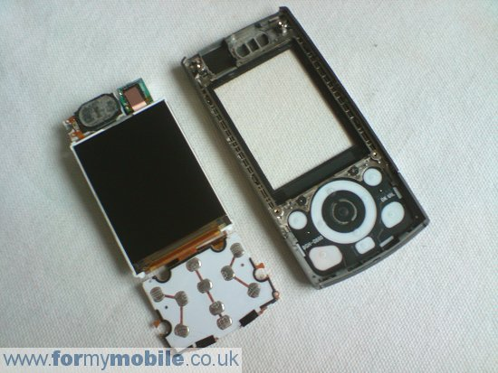 Samsung G600 disassembly stage 12