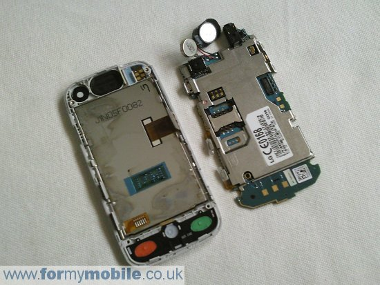 LG GS290 Cookie Fresh disassembly stage 4