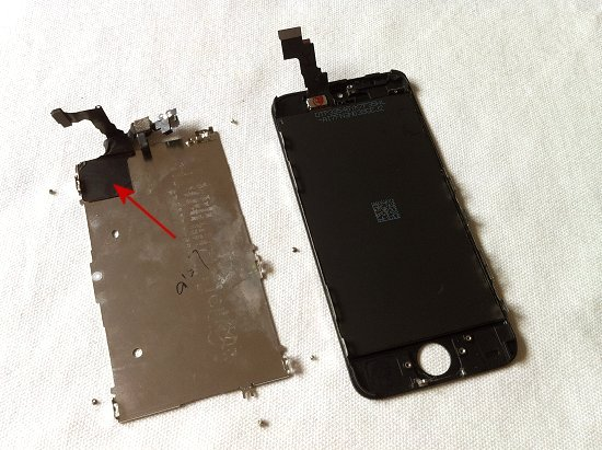 iPhone 5C disassembly stage 16