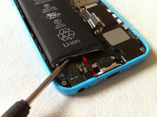 iPhone 5C disassembly stage 20