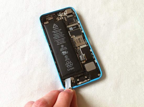 iPhone 5C disassembly stage 21