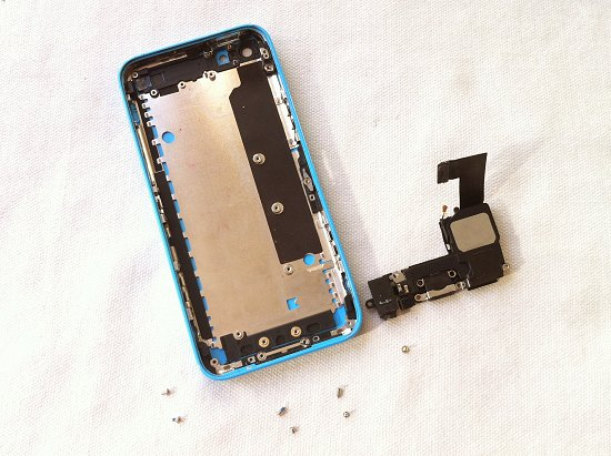 iPhone 5C disassembly stage 35
