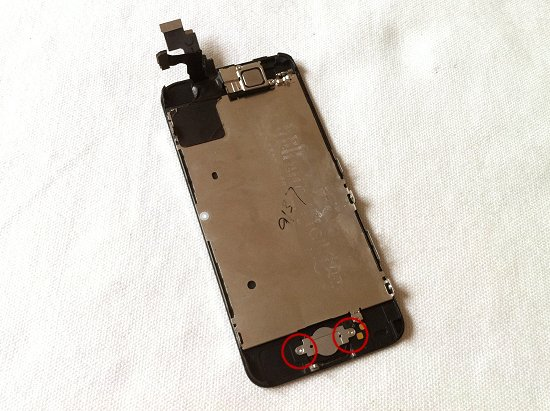 iPhone 5C disassembly stage 9
