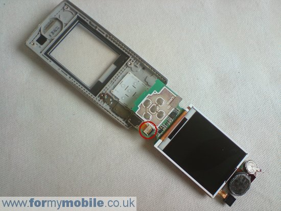 Samsung J600 disassembly stage 10