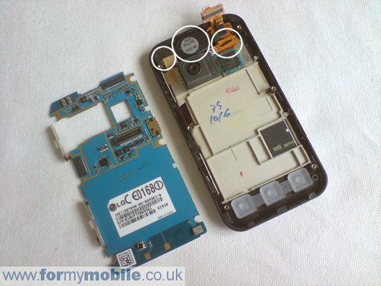 LG KC910 Renoir disassembly stage 6