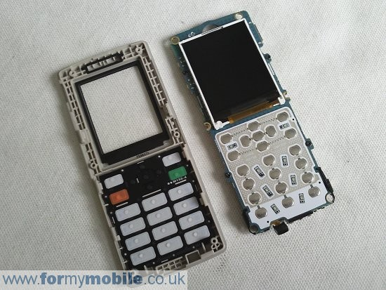 Samsung M150 disassembly stage 4