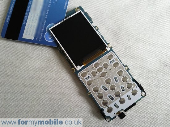Samsung M150 disassembly stage 5