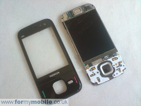 Nokia N85 disassembly stage 6
