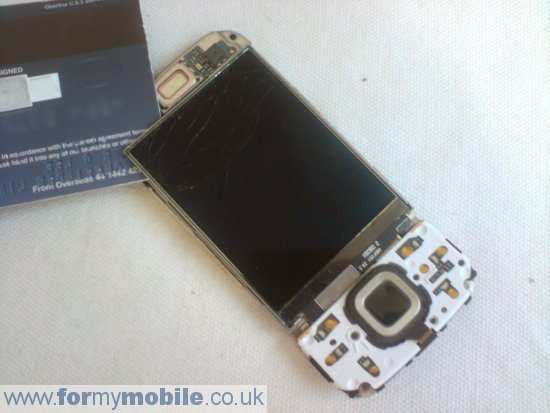 Nokia N85 disassembly stage 8
