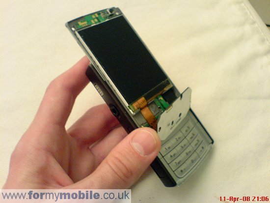 Nokia N95 disassembly stage 5