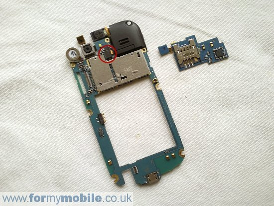 Samsung Nexus S i9020 disassembly stage 5