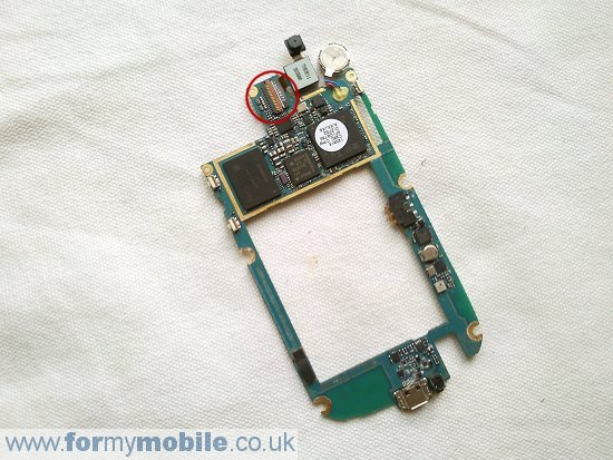 Samsung Nexus S i9020 disassembly stage 7
