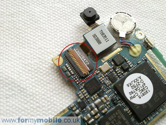 Samsung Nexus S i9020 disassembly stage 8