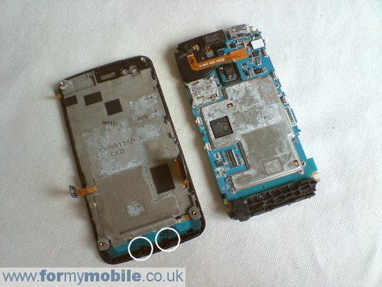 Samsung M8800 Pixon disassembly stage 7