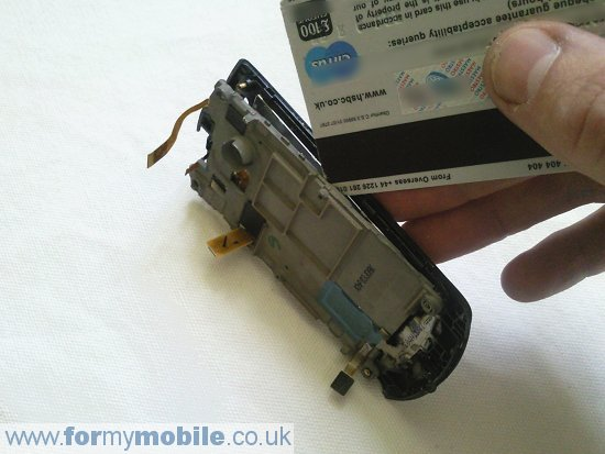 Samsung Monte S5620 disassembly stage 11