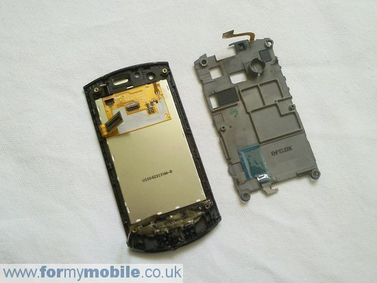 Samsung Monte S5620 disassembly stage 12