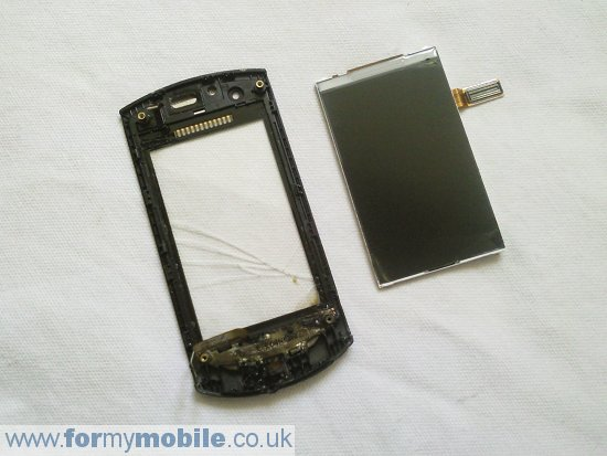 Samsung Monte S5620 disassembly stage 13