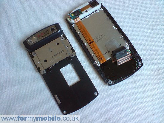 Samsung U600 disassembly stage 10