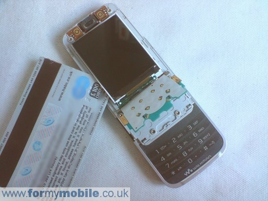 Sony Ericsson W395 disassembly stage 7